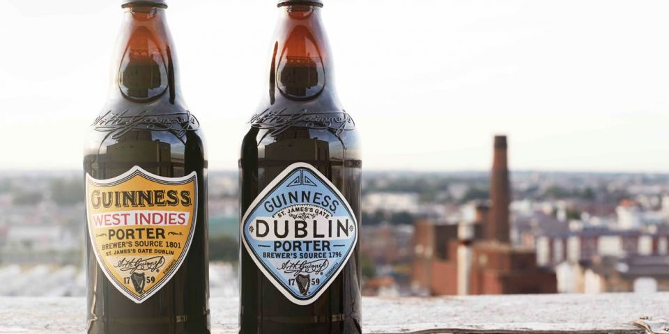 GUINNESS DUBLIN PORTER AND WEST INDIES PORTER 2 (15cm)