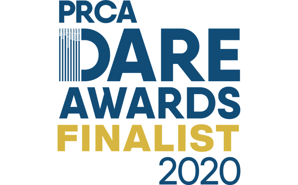 PRCA Dare Awards Finalist 2020 Logo